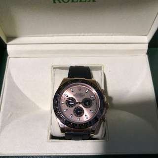 Rolex Daytona Rose Gold and Ceremic