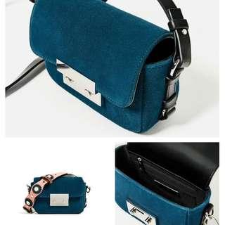 Zara Double Lock Seude