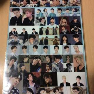 Stickers(exo, got7, wannaone)