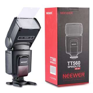 Neewer TT560 Flash Speedlite for DSLR Cameras Including Canon Nikon Panasonic Olympus Pentax, Digital Cameras with Standard Hot Shoe