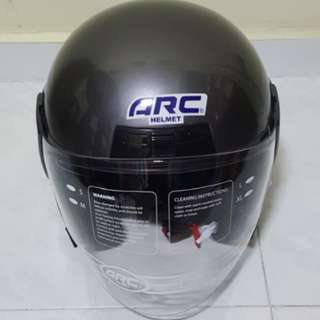 2002*** ARC Astro GREY Helmet For Sale 😁😁Thanks To All My Buyer Support 🐇🐇 Yamaha, Honda, Suzuki