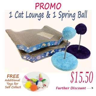 PROMO PWP - Scratch Board / Cat Lounge (Blue Series)