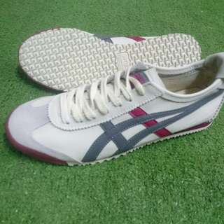 Onitsuka Tiger Mexico 66 Deluxe Beige/grey/claretred