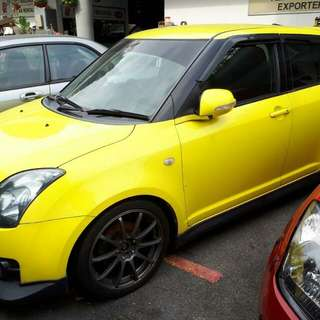 Suzuki Swift Sports Manual SG