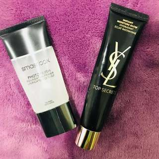 Primers (YSL&Smashbox) Price for two