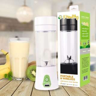 O Healthy portable wireless blender