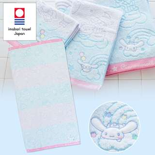 Japan Sanrio Cinnamoroll Imabari Bath Towel