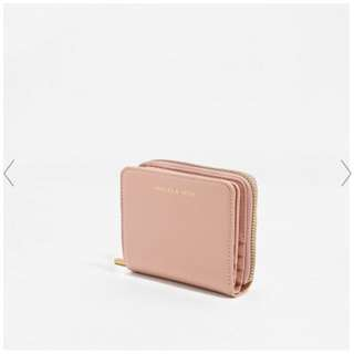Charles & Keith Basic Square Wallet (Black)