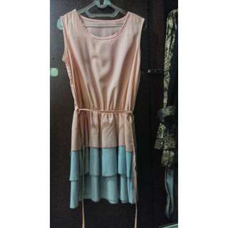 Dress pink pastel