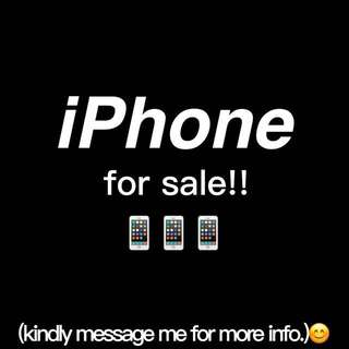 iPhone for sale!!
