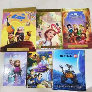 Disney storybooks (6 Books)