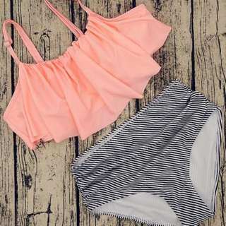 Flowy Two Piece Swimwear