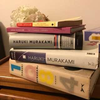 Set of Haruki Murakami Books