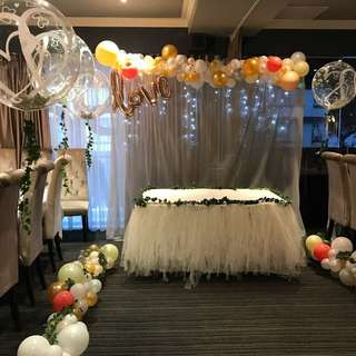 Balloon decor for ROM
