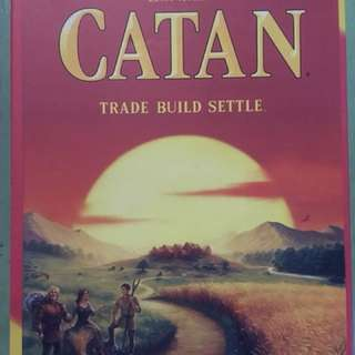 2nd Hand Catan (5th Edition) Boardgame