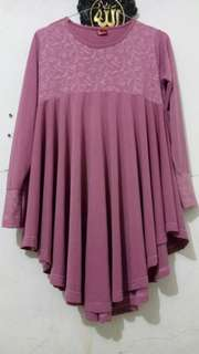 Atasan Dusty Pink Preloved