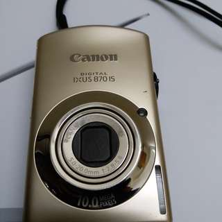 Canon IXUS 870 IS - Digital Camera