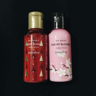 INNISFREE TRAVEL SIZE CHERRY BLOSSOM BODY LOTION