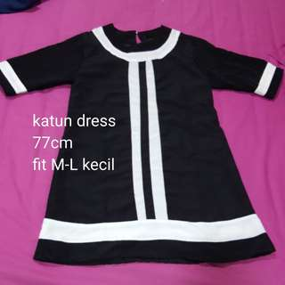 Katun dress NEW