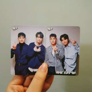 Nu'est W Yes! card