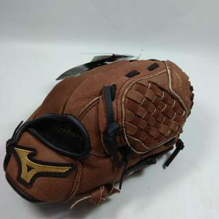 Mizuno 兒童棒球手套 壘球手套 約 10 吋 左手戴(右投)