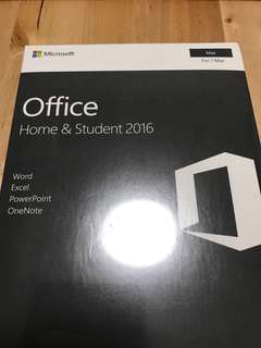 Office Home & Student 2016 (Life Time) Mac