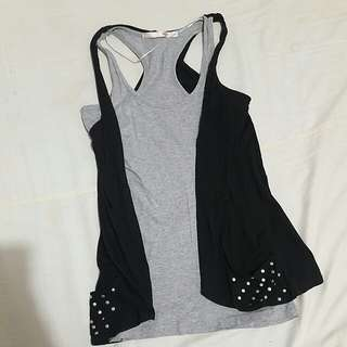SANDO with VEST preloved