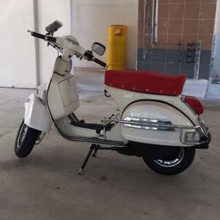 Reg. 2012 Vespa PX150 for sale