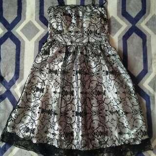 Black Laced Formal Dress