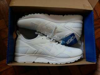 Asics white rubber shoes