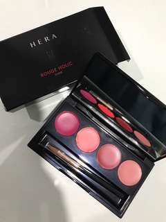 Hera Rouge Holic Shine Lip Palette