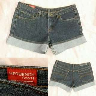 Herbench Denim Shorts