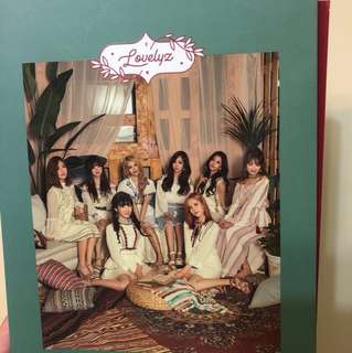 LOVELYZ NOW,WE 淨專連KEI封面