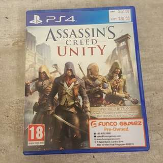 CHEAP!!! Assassin's Creed Unity ps4