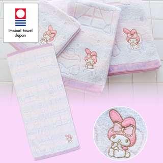 Japan Sanrio My Melody Imabari Face Towel