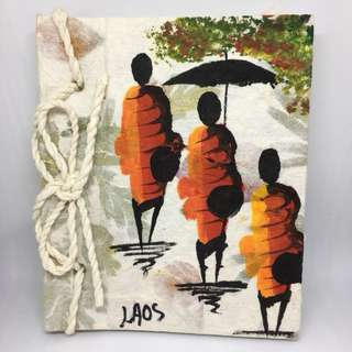 A6 Handmade Laos Notebook
