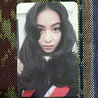 WTS/WTT F(X) VICTORIA 4 WALLS OFFICIAL PHOTOCARD