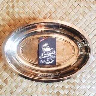 Rm59 Dulang Silver Plated Tembaga Antik