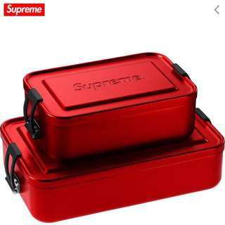 Supreme/Sigg Small Metal Box Plus 2018