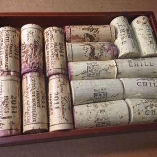 💙★ 收藏用開瓶過後的紅酒軟木塞 ( 非 全 新 )