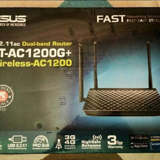 Brand New ASUS RT-AC1200G+