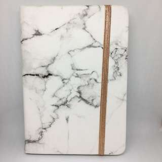 A6 Typo Marble Notebook (Brand New)