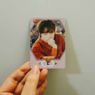INFINITE L YES! CARD