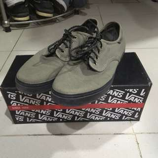 VANS ARMY GREEN SHOES