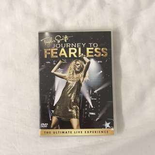 authentic taylor swift journey to fearless HD dvd