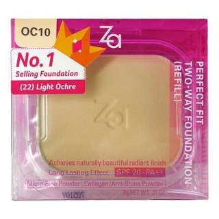 Za Perfect Fit Two-Way Foundation OC10 (Refill)