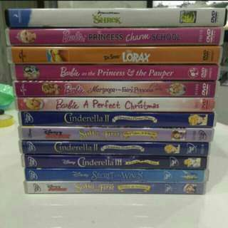 12 Dvds for sale
