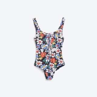 Zara 連身泳衣