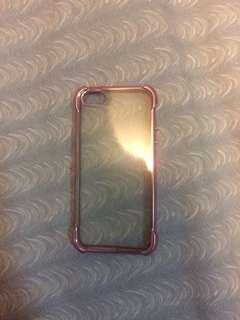 Iphone 5/5s shockproof violet