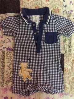 Boy Shirt jumper romper